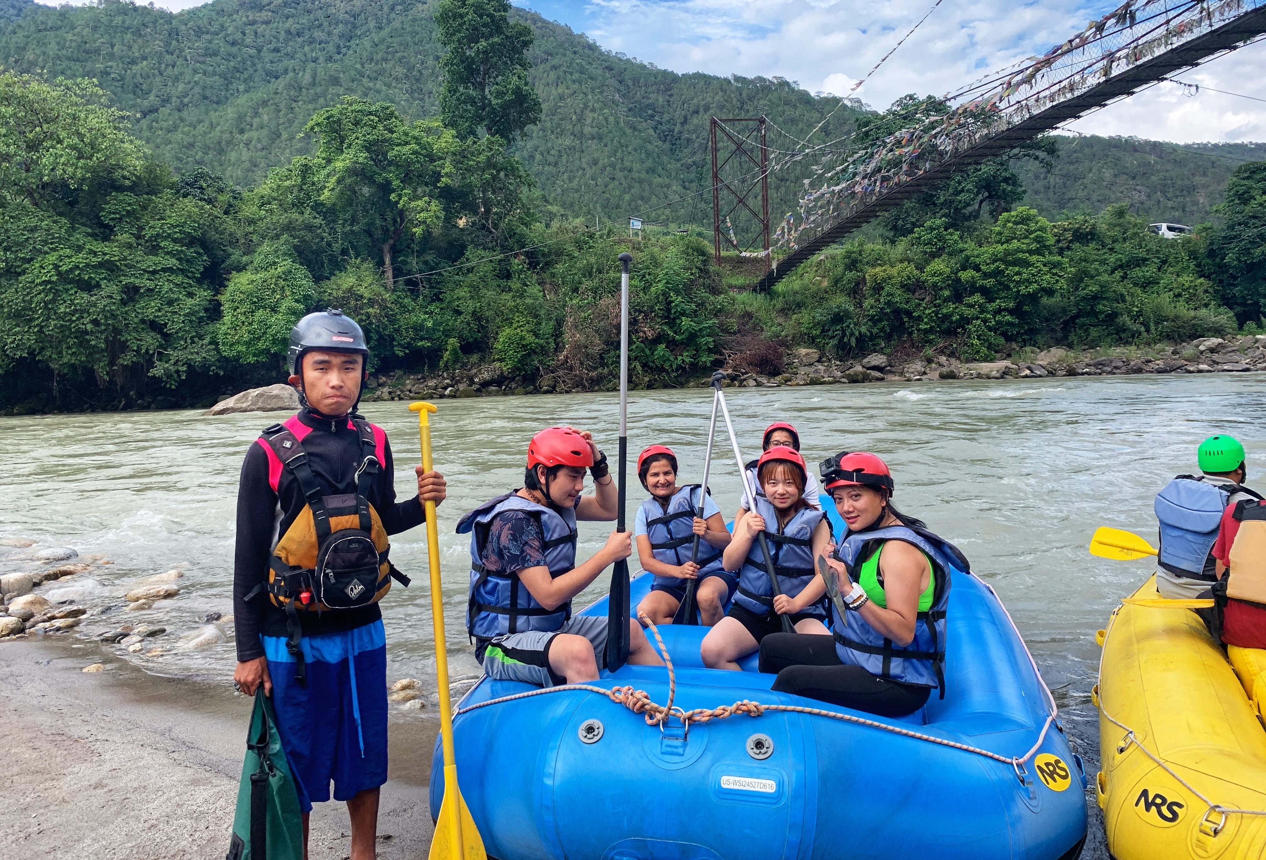 Image result for Water Rafting bhutan